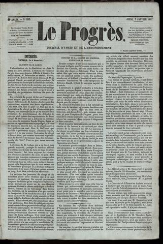 Le Progrès (1841-1914) 1847-01-07