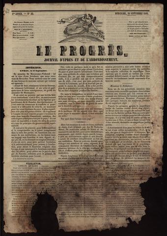 Le Progrès (1841-1914) 1841-09-26