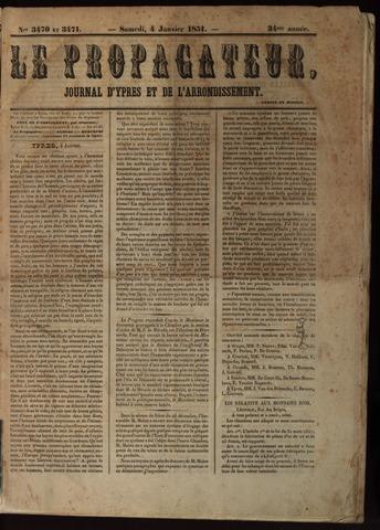 Le Propagateur (1818-1871) 1851