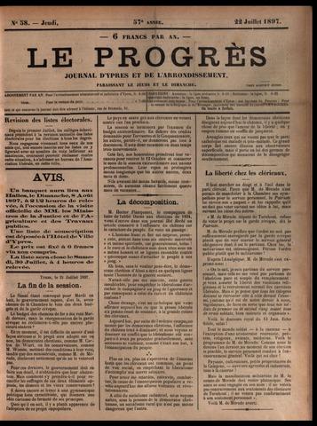 Le Progrès (1841-1914) 1897-07-22