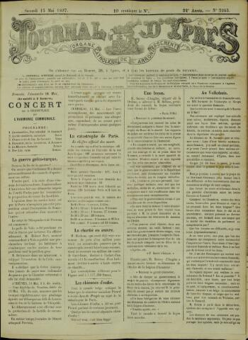 Journal d'Ypres (1874 - 1913) 1897-05-15