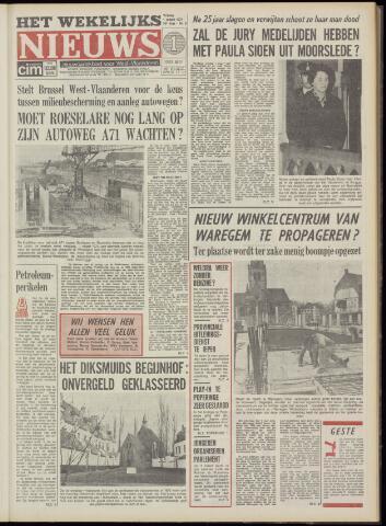 Het Wekelijks Nieuws (1946-1990) 1974-03-01