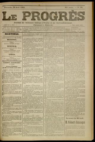 Le Progrès (1841-1914) 1905-04-30