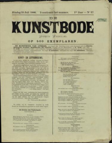 De Kunstbode (1880 - 1883) 1880-07-25