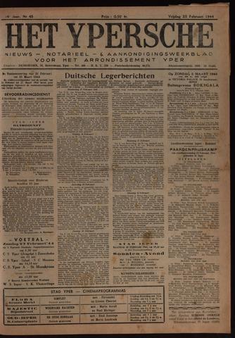 Het Ypersch nieuws (1929-1971) 1944-02-25