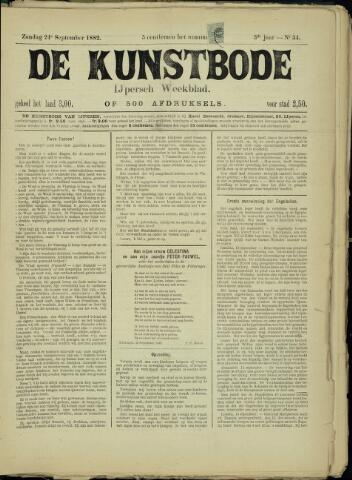 De Kunstbode (1880 - 1883) 1882-09-24