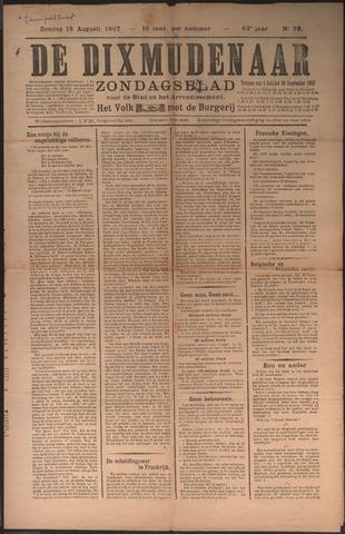 De Dixmudenaar 1907-08-18