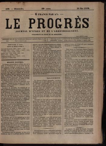 Le Progrès (1841-1914) 1879-05-25