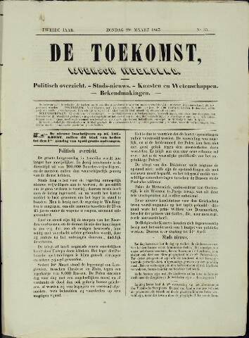 De Toekomst (1862 - 1894) 1863-03-29