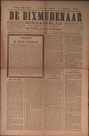 De Dixmudenaar 1909-05-02