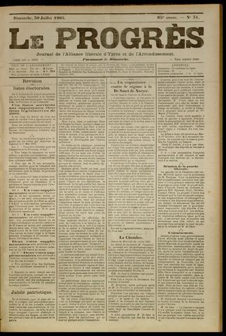 Le Progrès (1841-1914) 1905-07-30