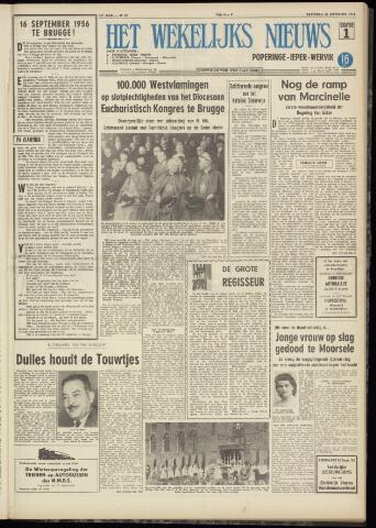 Het Wekelijks Nieuws (1946-1990) 1956-09-22