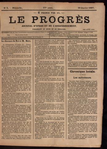 Le Progrès (1841-1914) 1897-01-10