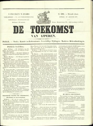 De Toekomst (1862 - 1894) 1871-08-27