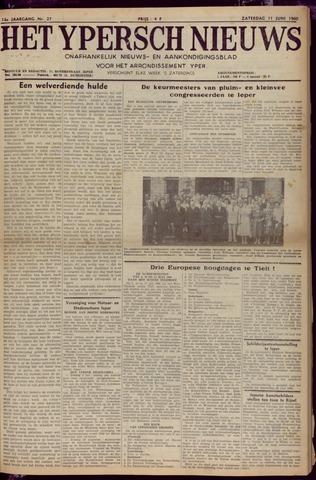 Het Ypersch nieuws (1929-1971) 1960-06-11