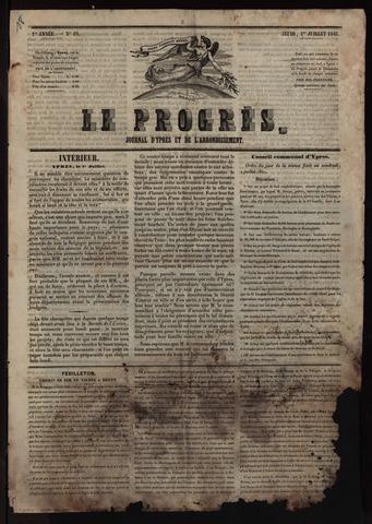 Le Progrès (1841-1914) 1841-07-01