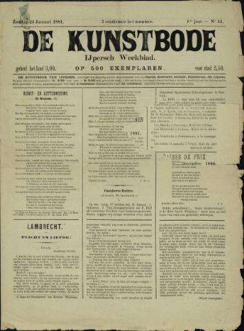 De Kunstbode (1880 - 1883) 1881-01-23
