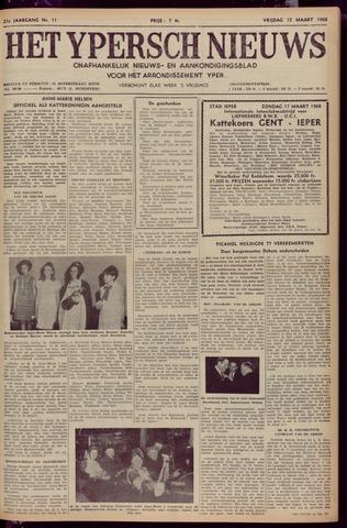 Het Ypersch nieuws (1929-1971) 1968-03-15
