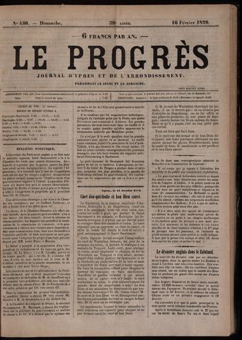 Le Progrès (1841-1914) 1879-02-16