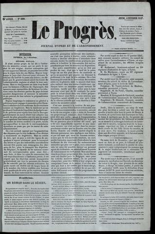 Le Progrès (1841-1914) 1847-02-04