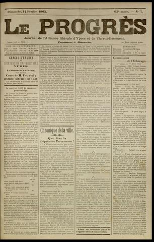 Le Progrès (1841-1914) 1905-02-12
