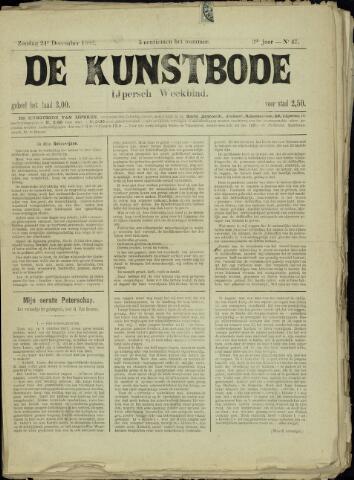 De Kunstbode (1880 - 1883) 1882-12-24