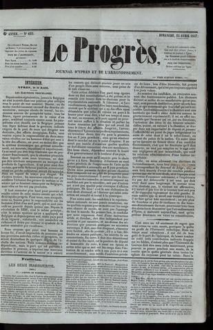 Le Progrès (1841-1914) 1847-04-25