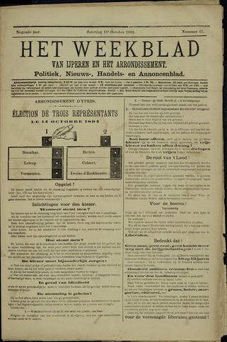 Het weekblad van Ijperen (1886 - 1906) 1894-10-13