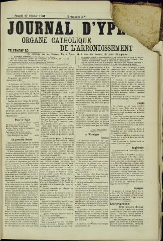 Journal d'Ypres (1874 - 1913) 1906-02-17