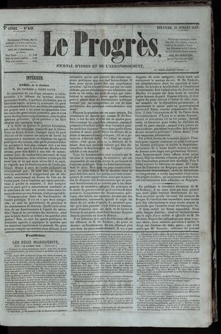 Le Progrès (1841-1914) 1847-07-25