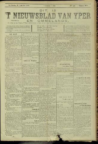 Nieuwsblad van Yperen en van het Arrondissement (1872 - 1912) 1905-09-16