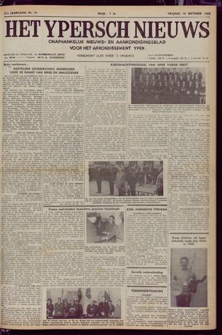 Het Ypersch nieuws (1929-1971) 1968-10-18