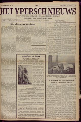 Het Ypersch nieuws (1929-1971) 1960-03-12