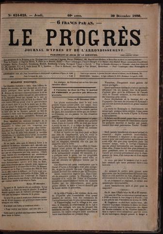 Le Progrès (1841-1914) 1880-12-30