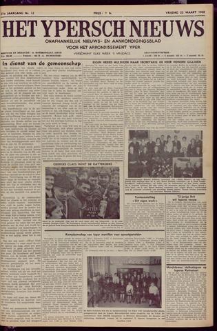 Het Ypersch nieuws (1929-1971) 1968-03-22