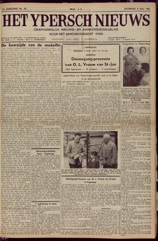 Het Ypersch nieuws (1929-1971) 1961-07-08