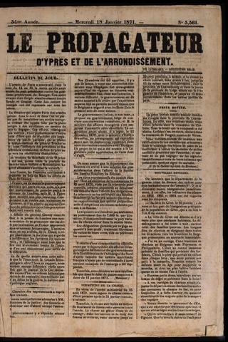 Le Propagateur (1818-1871) 1871
