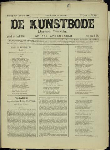 De Kunstbode (1880 - 1883) 1882-01-15