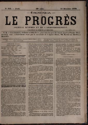 Le Progrès (1841-1914) 1879-12-11