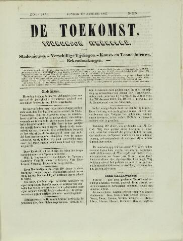 De Toekomst (1862 - 1894) 1867-01-27