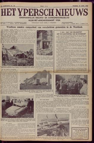 Het Ypersch nieuws (1929-1971) 1967-06-30