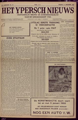 Het Ypersch nieuws (1929-1971) 1965-12-31