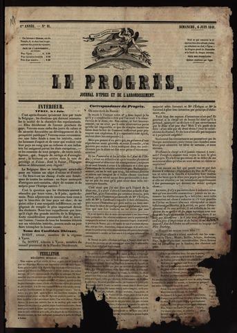 Le Progrès (1841-1914) 1841-06-06