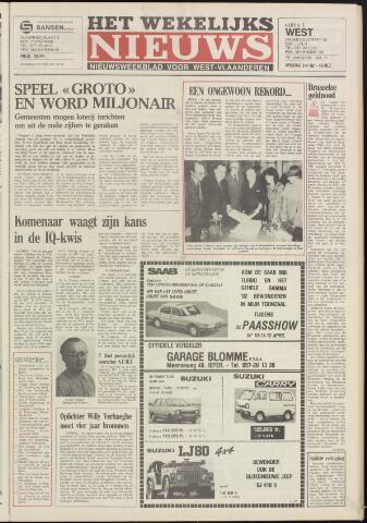 Het Wekelijks Nieuws (1946-1990) 1982-04-02