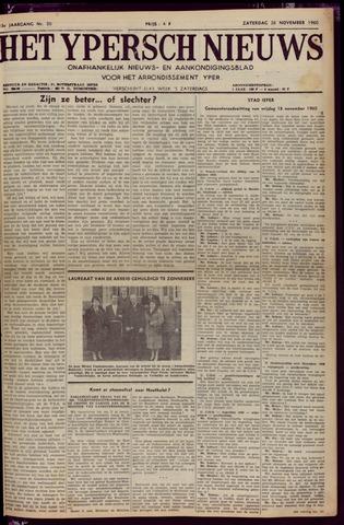Het Ypersch nieuws (1929-1971) 1960-11-26