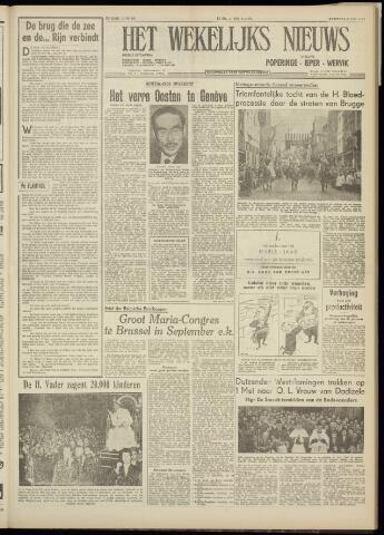 Het Wekelijks Nieuws (1946-1990) 1954-05-08