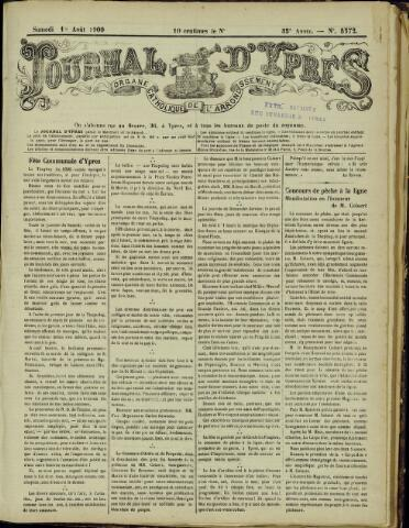 Journal d'Ypres (1874 - 1913) 1900-08-18