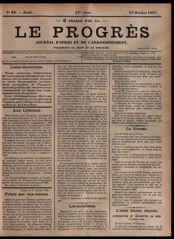 Le Progrès (1841-1914) 1897-10-14