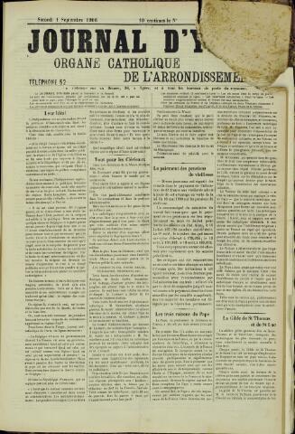 Journal d'Ypres (1874 - 1913) 1906-09-01