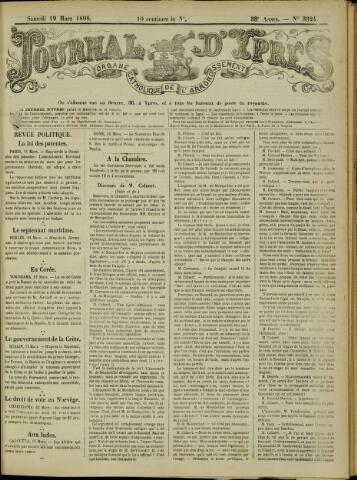 Journal d'Ypres (1874 - 1913) 1898-03-19